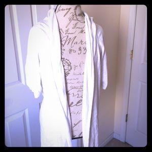 a.n.a woman white 3X cardigan